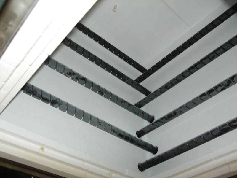AGNI 1600C elevator kiln inside kiln. Sidewall view