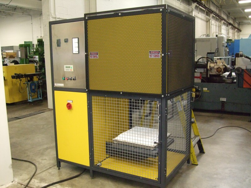AGNI 1600C elevator kiln side view