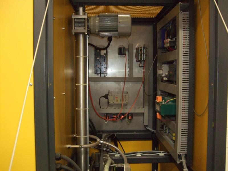 AGNI 1600C elevator kiln inside panel