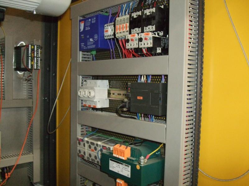 AGNI 1600C elevator kiln inside panel view