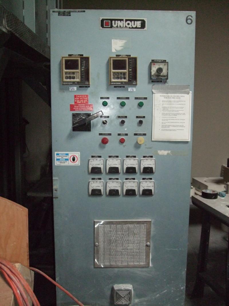 HED ELK-54 1750C Elevator kiln control panel
