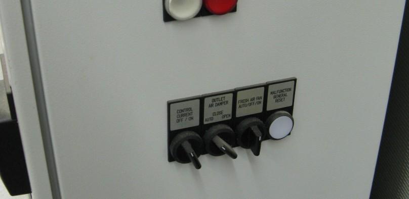 Nabertherm N300/H control panel