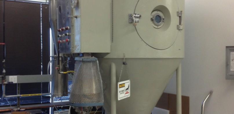 SOLD  Niro Model IV Spray Dryer Pilot plant size